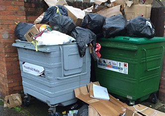 Residential rubbish and waste clearance